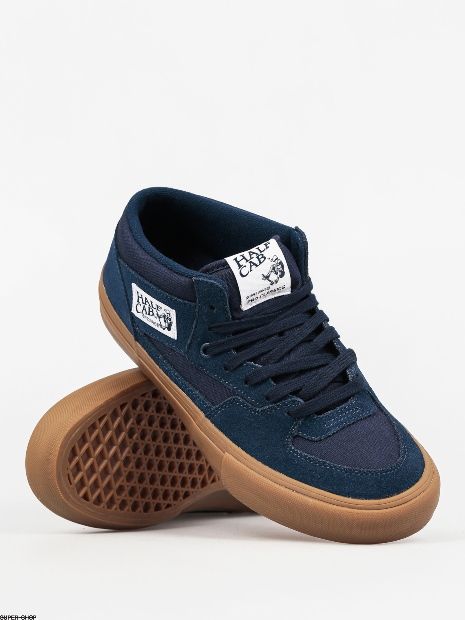 Vans Shoes Half Cab Pro (navy gum) f57fa79e4