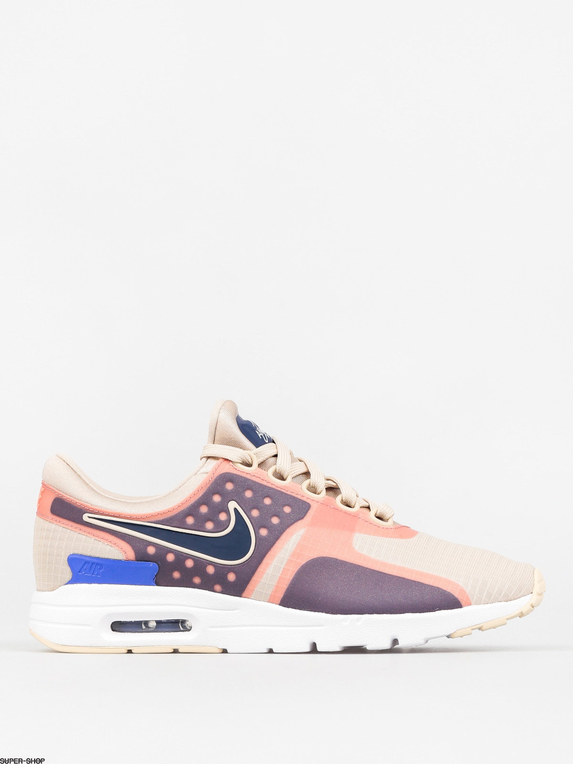 Nike Shoes Air Max Zero Si Wmn (oatmeal/binary blue white)