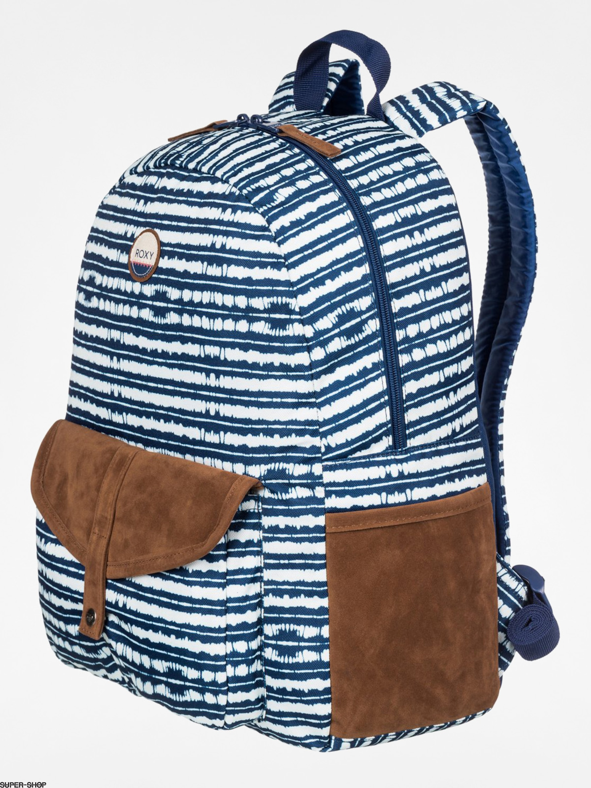 Roxy Rucksack Carribean Wmn (navy/brown/white)