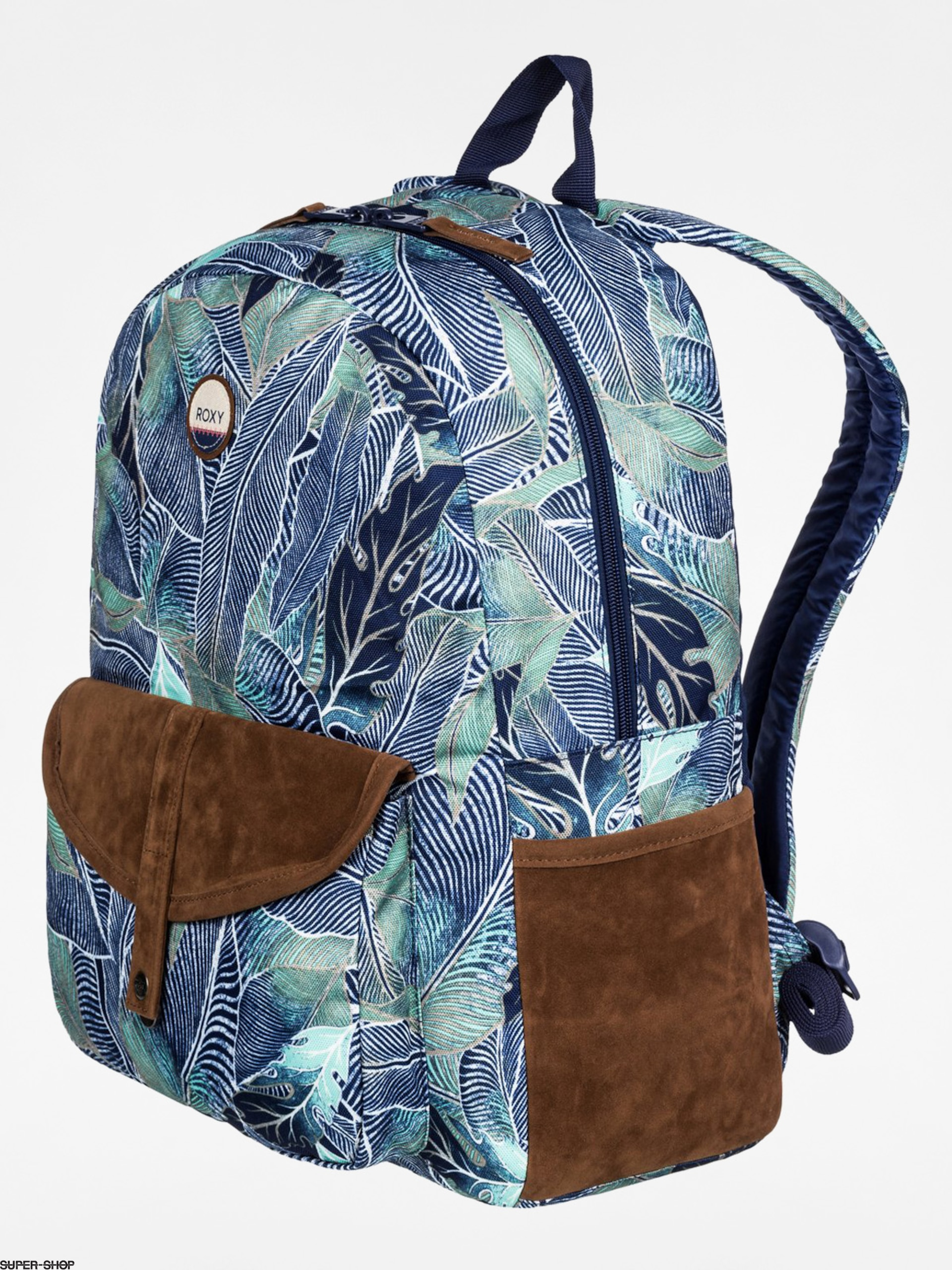 Roxy Rucksack Carribean Wmn (navy/brown/green)