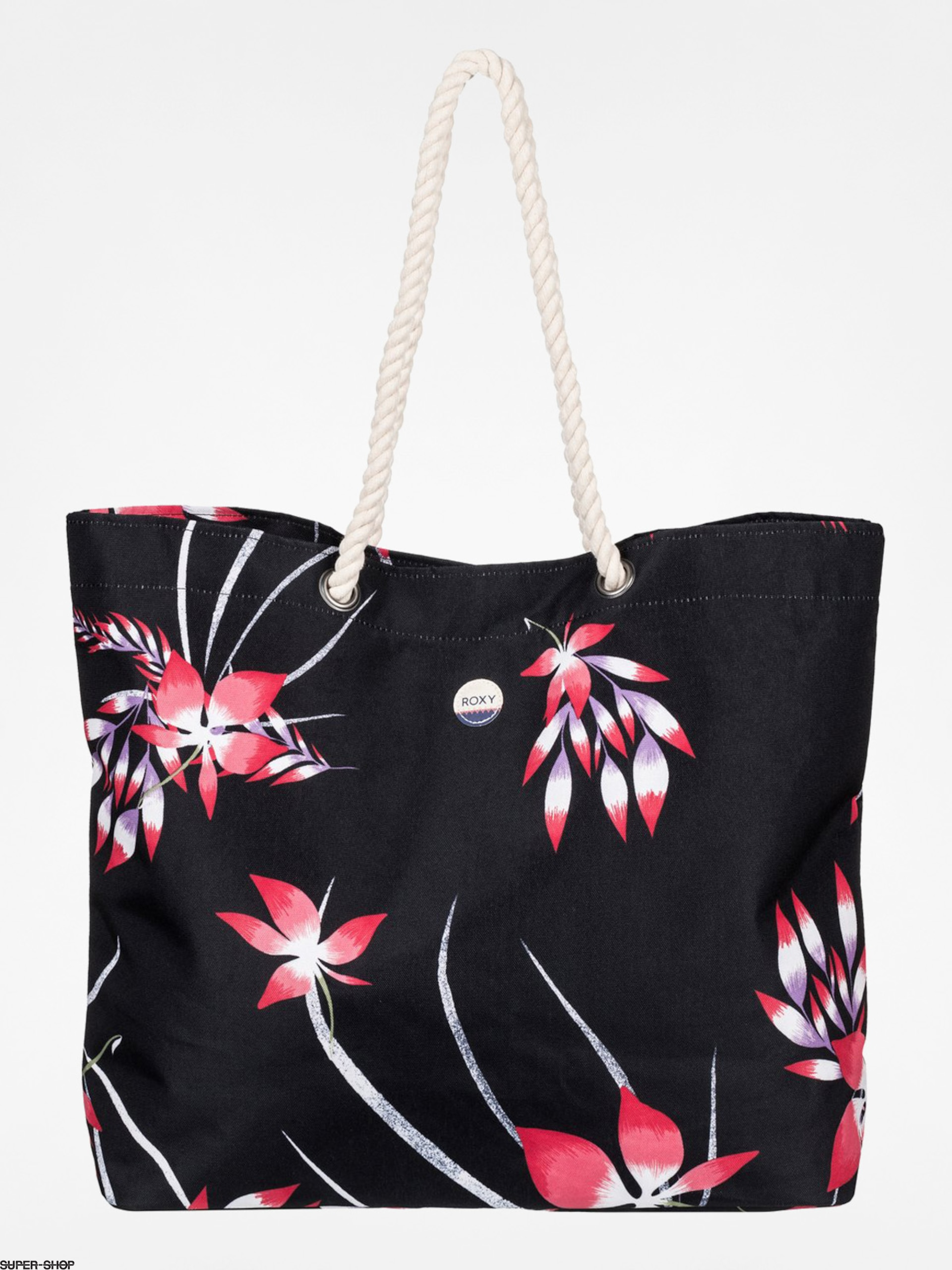Roxy Handbag Printed Tropical Wmn (black/flowers)