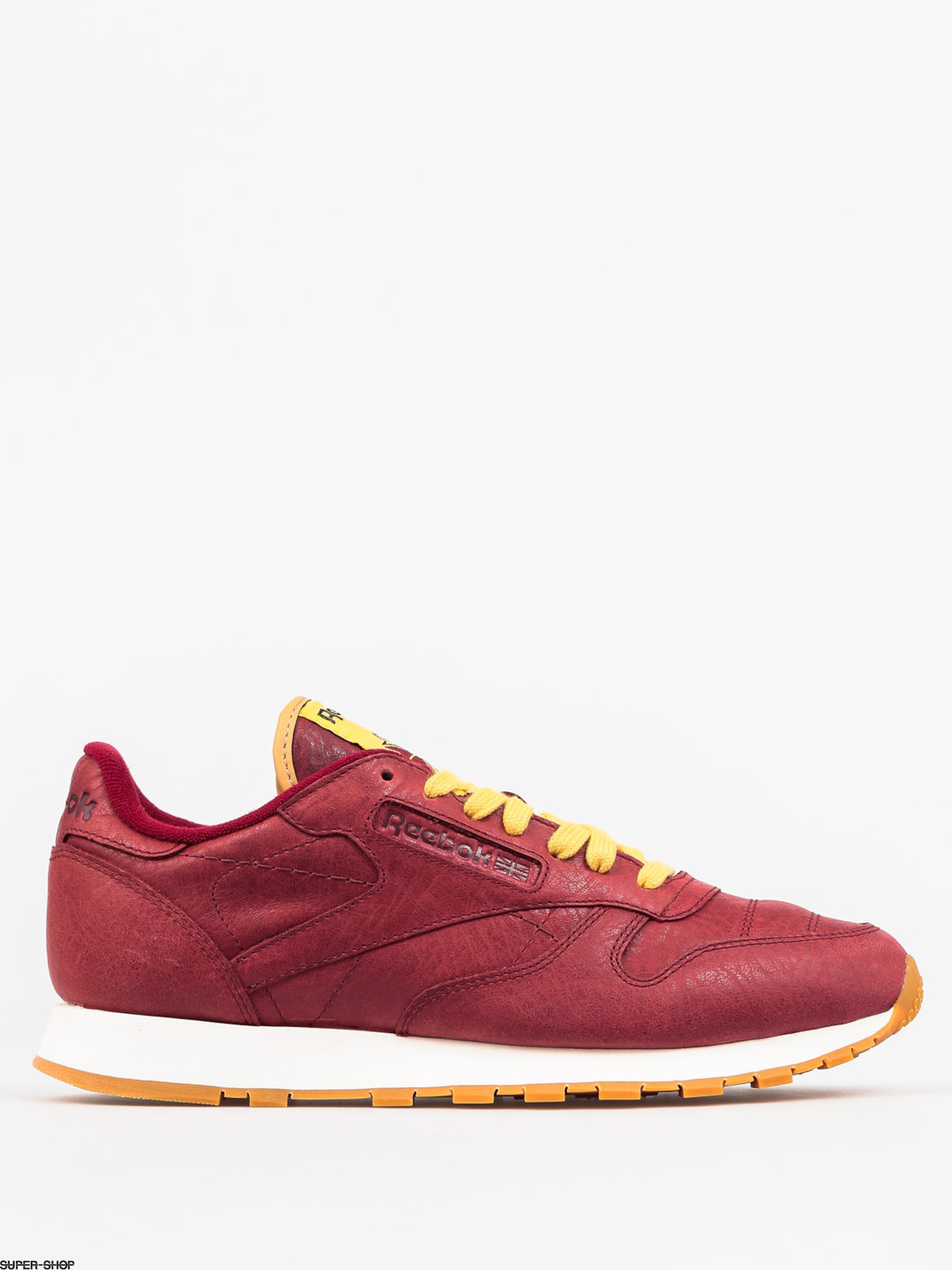 ceeac3dfff6 Reebok Shoes Classic Leather Boxing (rugged maroon chalk gum)
