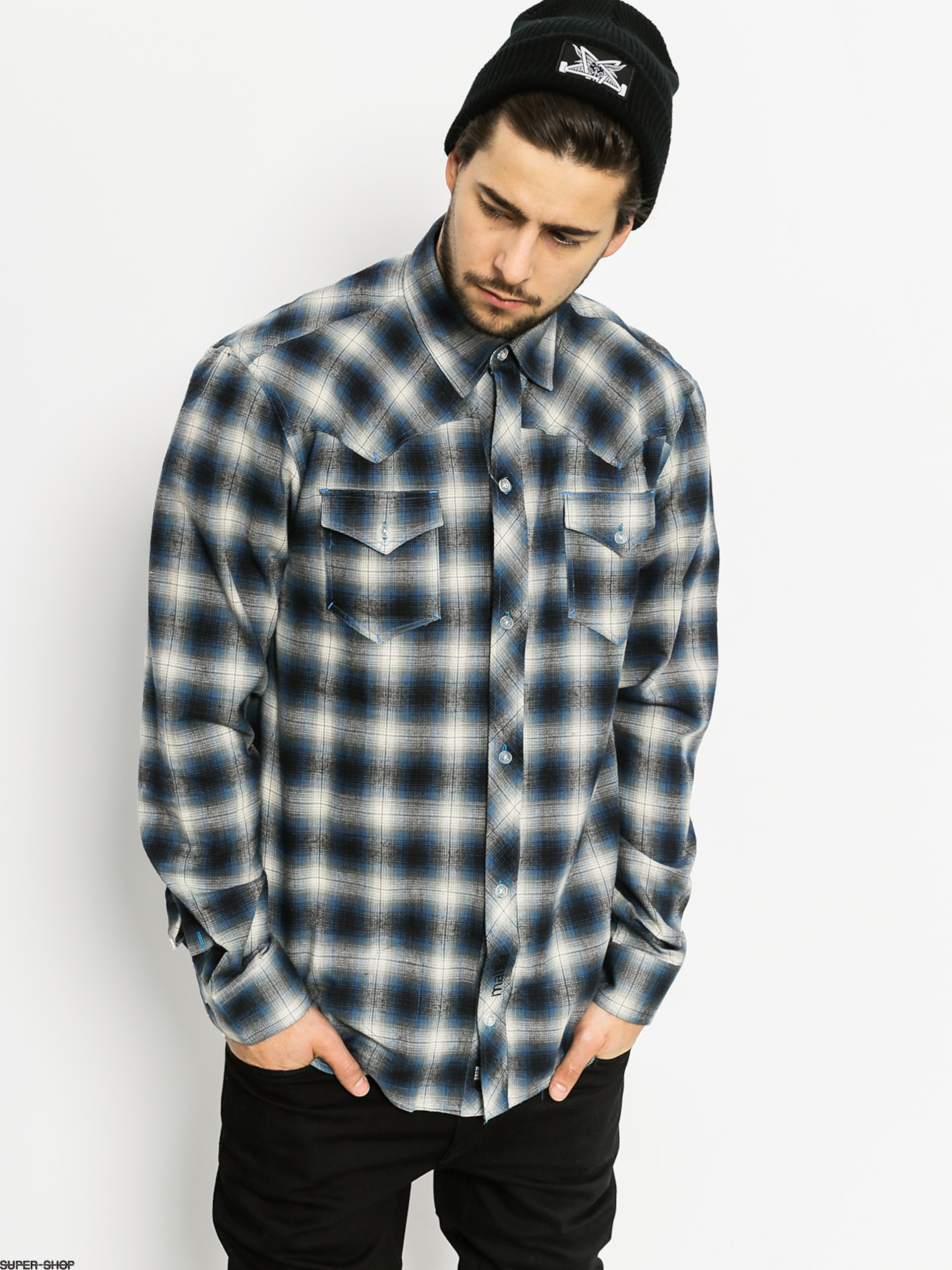 Malita Shirt Cowboy (black/blue)