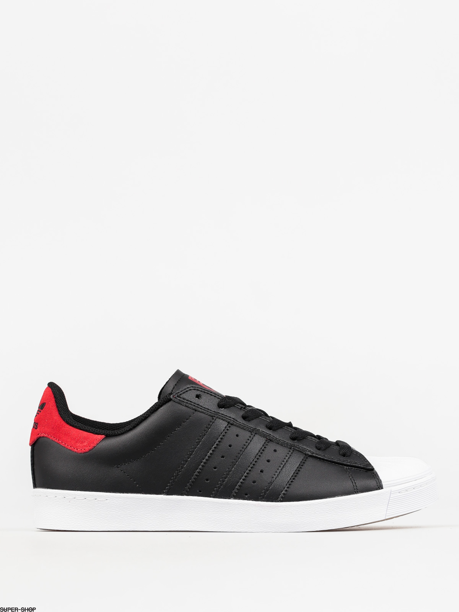 adidas Shoes Superstar Vulc Adv (cblack/scarle/ftwwht)