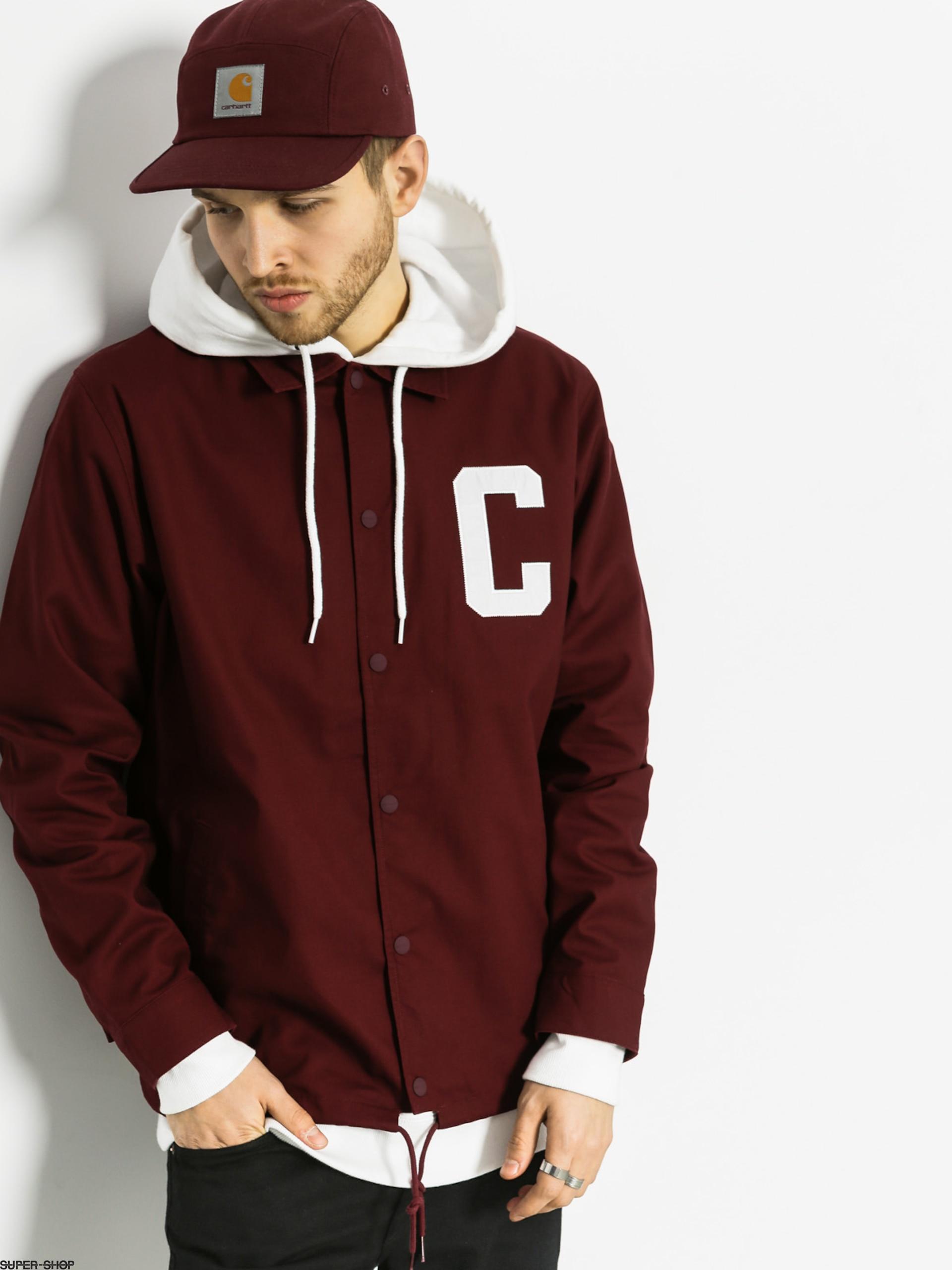new lifestyle famous brand discount sale Carhartt Jacket Penn LT (varnish/white)
