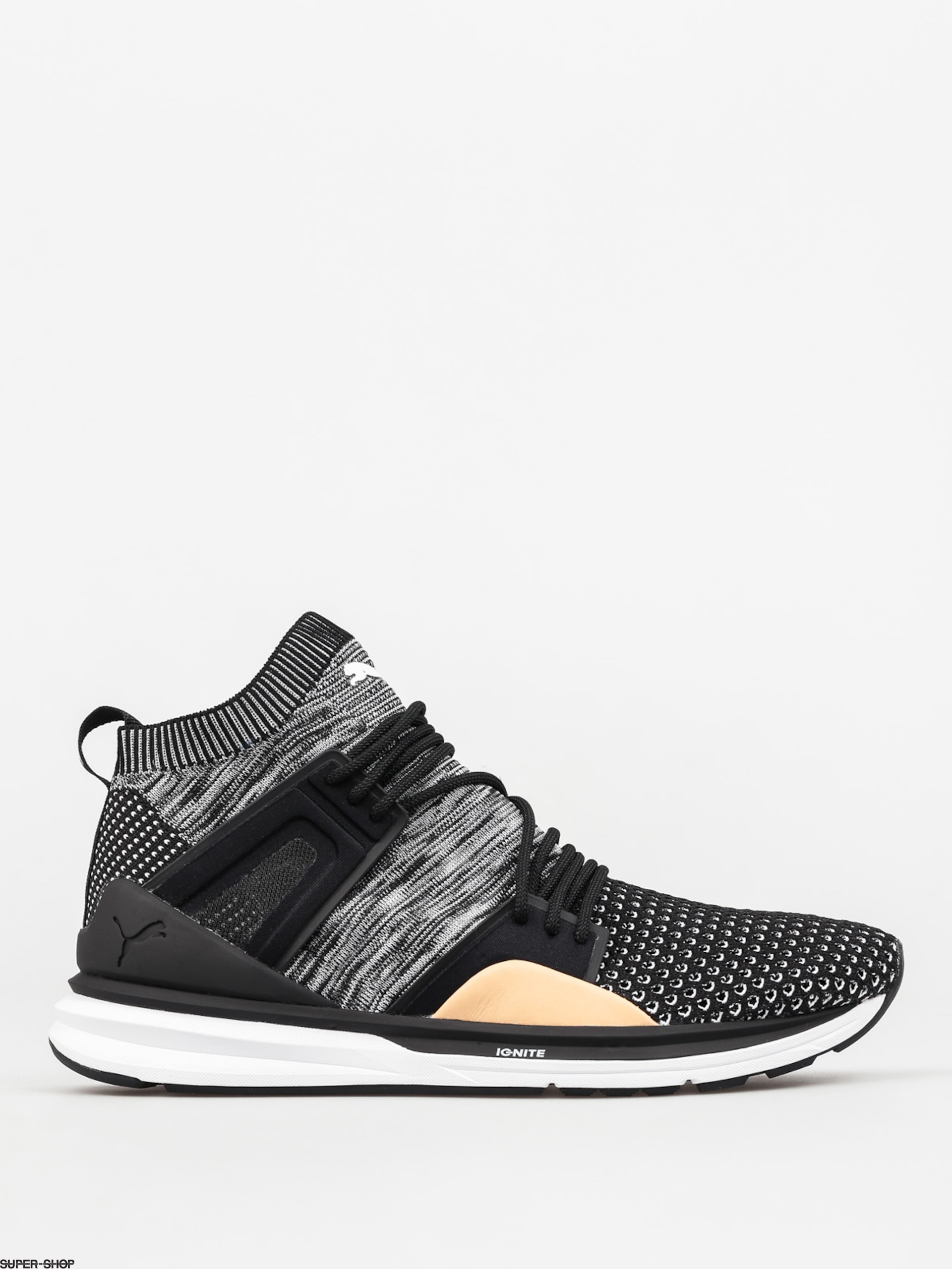 cheap for discount a8a78 c409d Puma Shoes B.O.G Limitless Hi evoKnit (black/black/white)