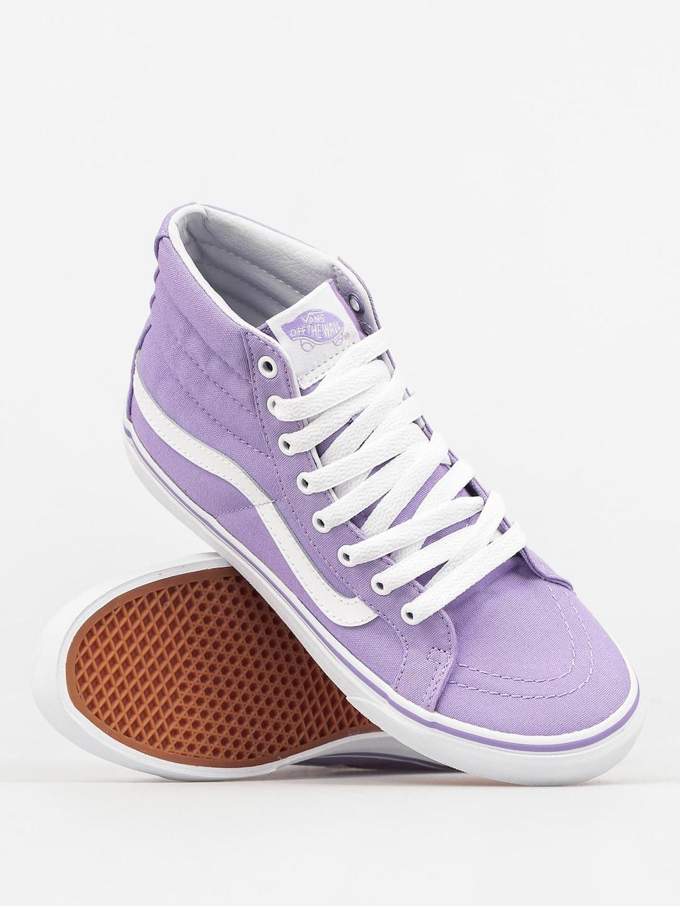 Vans Shoes Sk8 Hi Slim (lavender/true