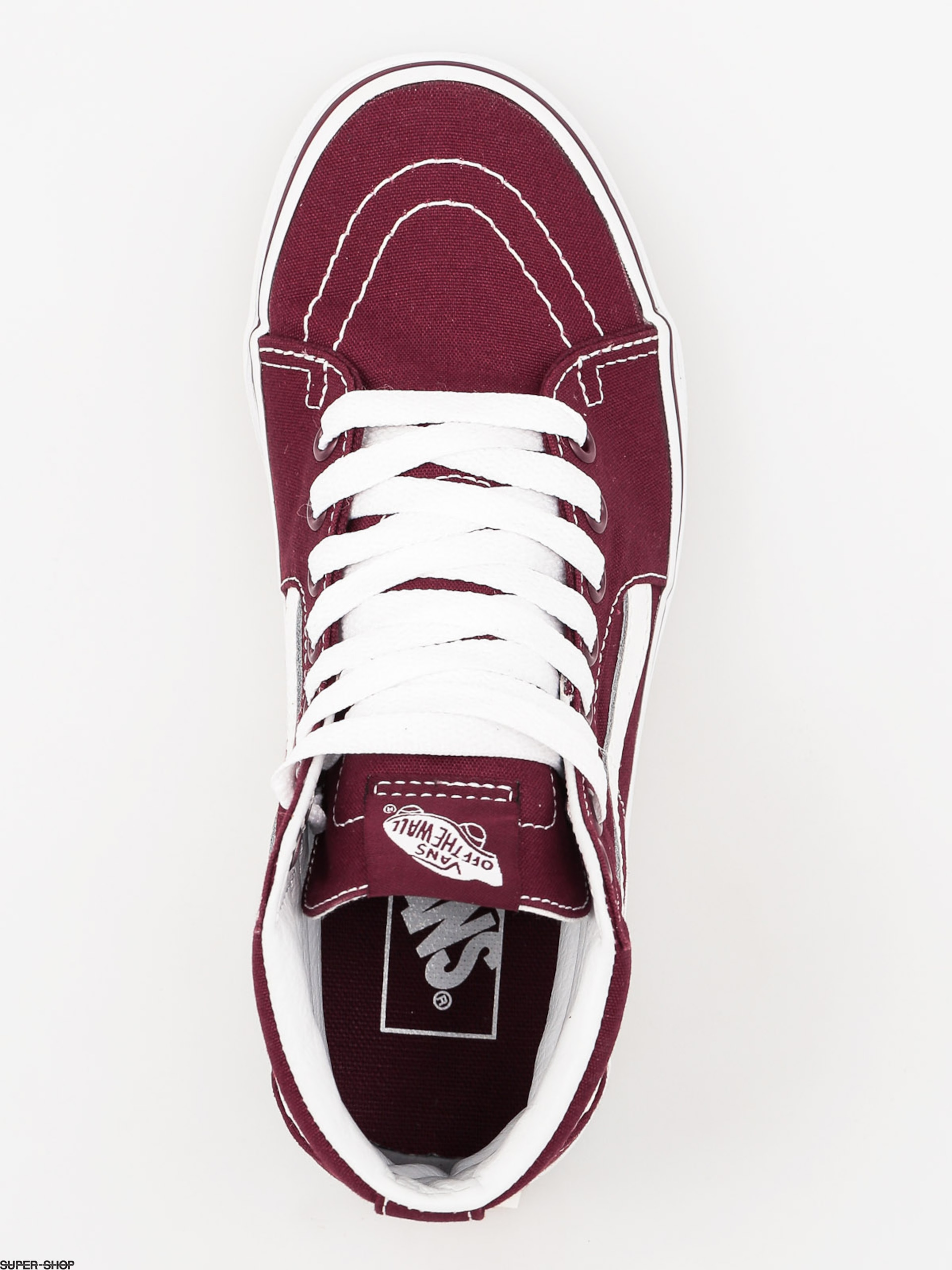 1b831dddd2 Vans Sk8Hi Pro Shoes Black Port Sneakers t Shoes