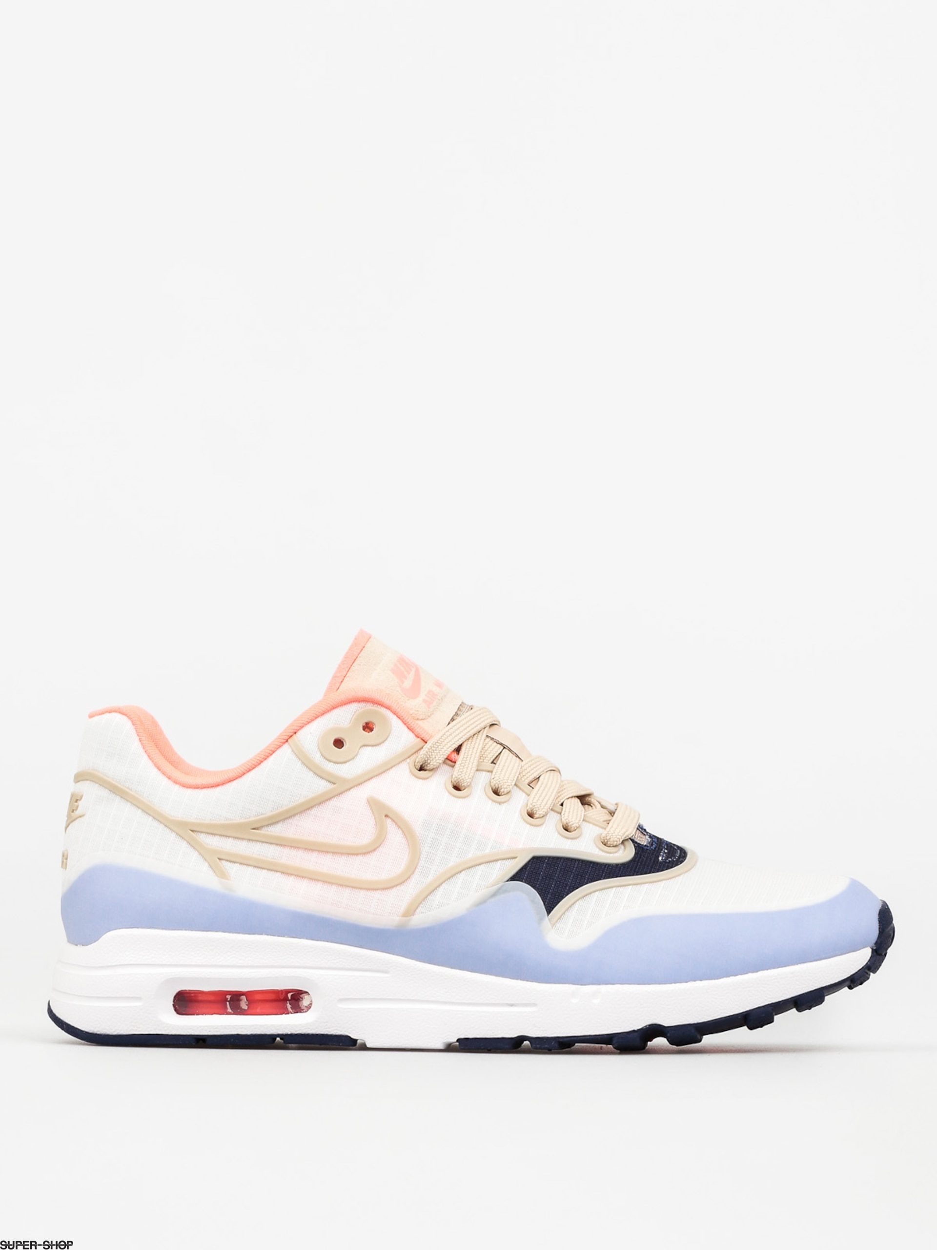 Nike Shoes Air Max 1 Wmn (Ultra 2.0 Si sail/oatmeal white lava glow)
