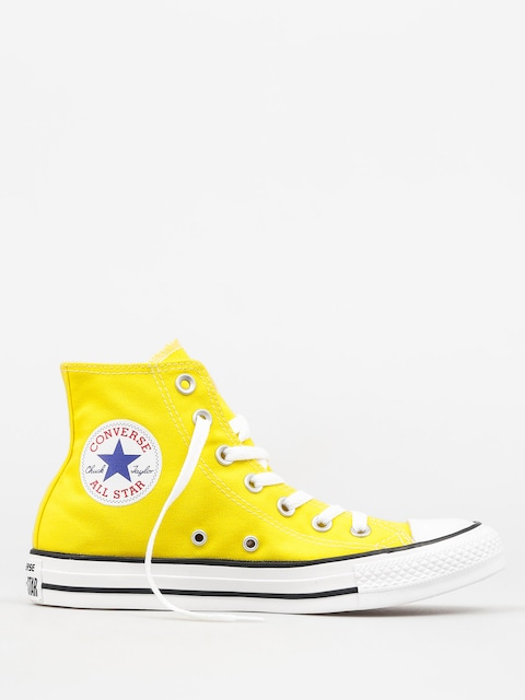 Converse Chucks Chuck Taylor All Star Hi (fresh yellow)