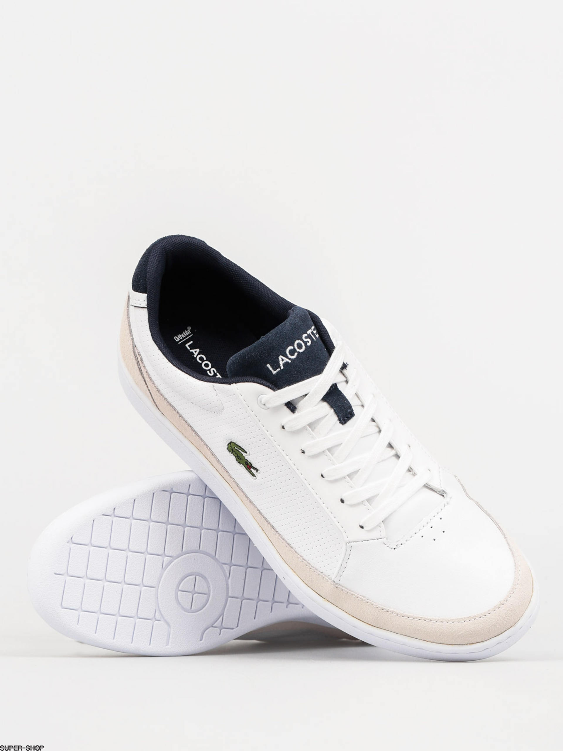 1ca97602ddf9 Lacoste Shoes Setplay 117 1 Spm (white leather suede)