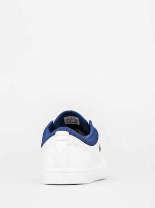 Sp 2 Lacoste Shoes Blueleathertextile Straightset Whitedark 117 cam 4x4SZqp