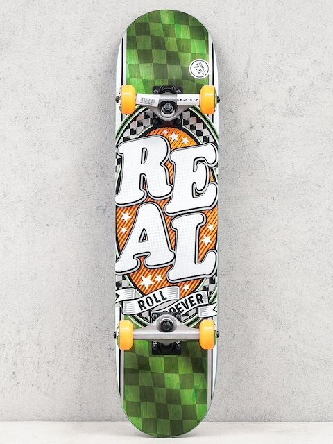 Real Skateboard Start Today (green/orange)