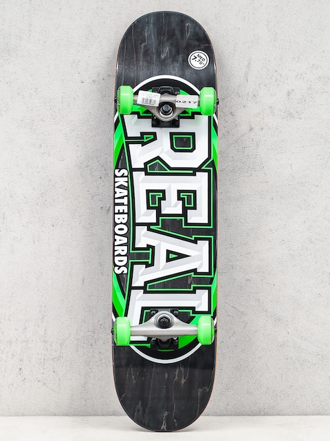 Real Skateboard Alumni (black/green)