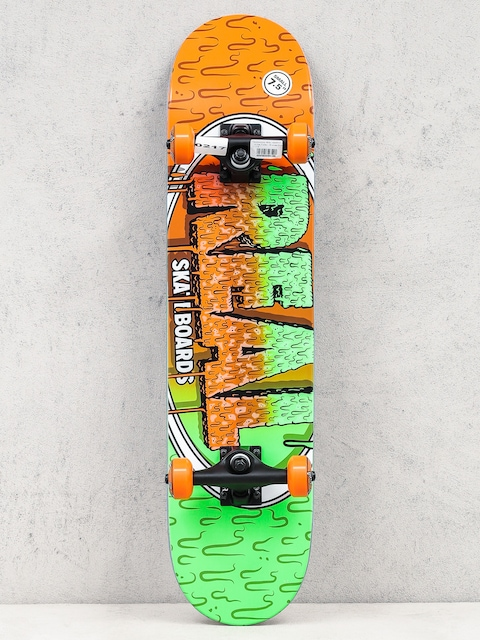 Real Skateboard Slime Fades (orange/green)