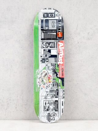 Almost Deck Stick O Rama R7 (green/white)