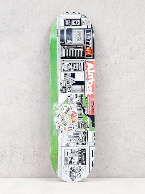 Almost Deck Stick O Rama R7 (green/white)