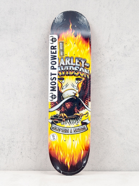 Darkstar Deck Harley Davidson (yellow)
