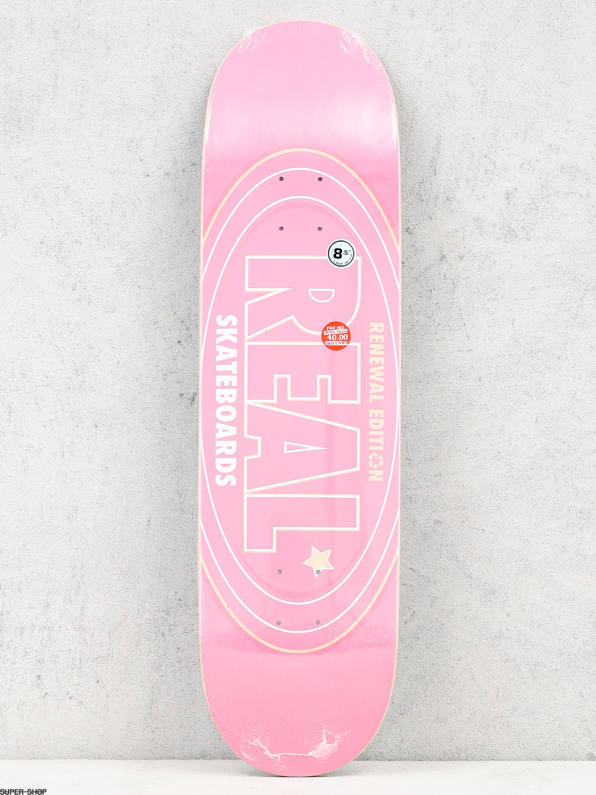 Real Deck Oval Renewal (pink)