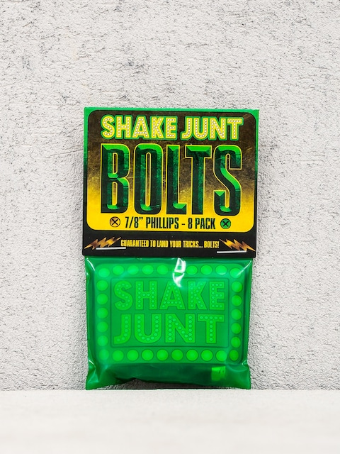 Shake Junt Bolts Phillips (black/green 7/8