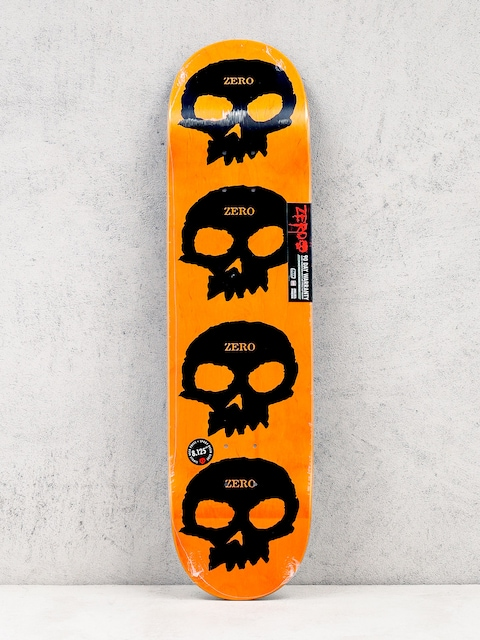 Zero Deck Multi Skull Hyb (black/orange)