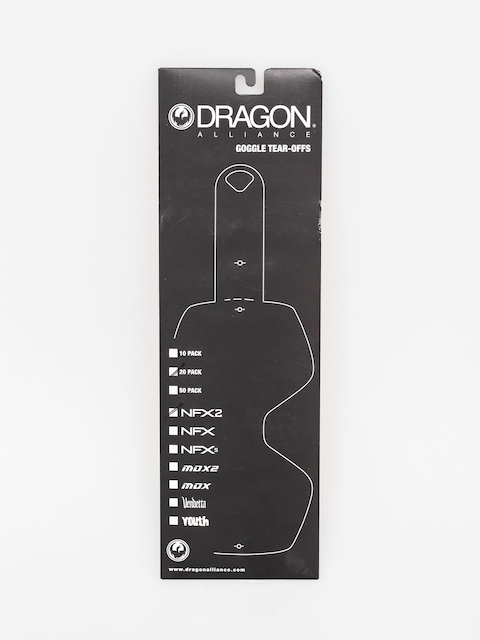 Dragon Tear-Off NFX2 (tear off 20 pack)