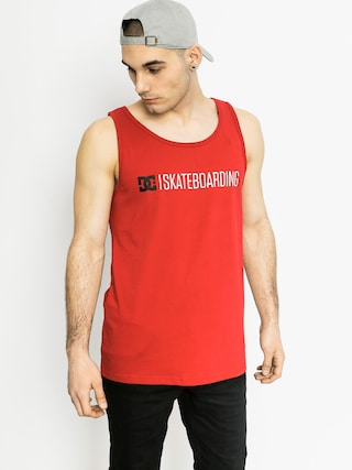 DC T-Shirt Minimal 16 Tank (red)