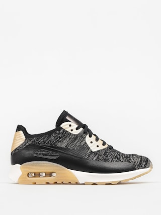 Nike Shoes Air Max 90 Wmn (Ultra 2.0 Flyknit Metallic black/black)