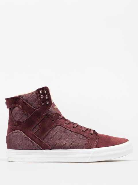 Supra Shoes Skytop (mahogany white)