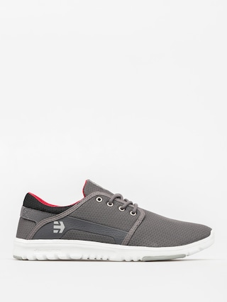 Etnies Shoes Scout (grey/black/red)