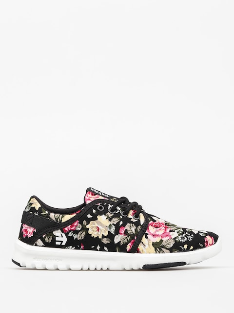 Etnies Shoes Scout Wmn (black/white/black)