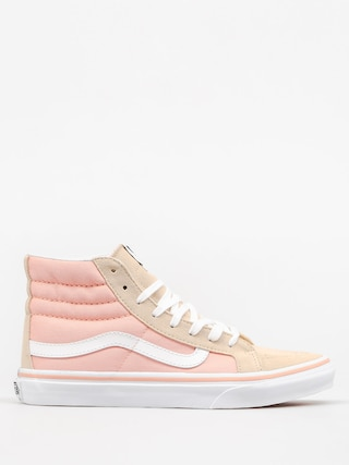 Vans Shoes Sk8 Hi Slim (pale khaki/true white)