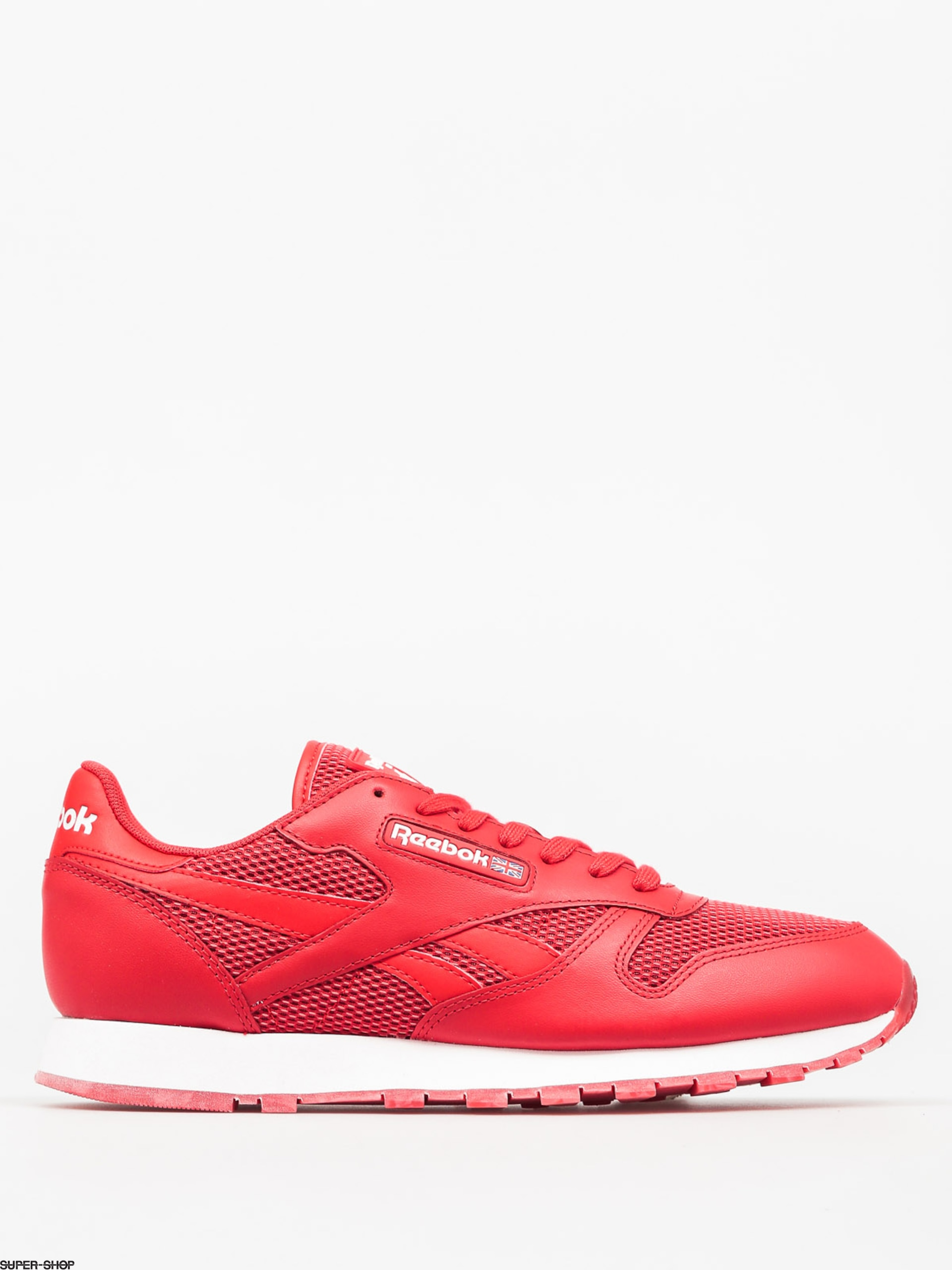 Reebok Shoes Classic Leather Nm (primal red/white/poppy red)
