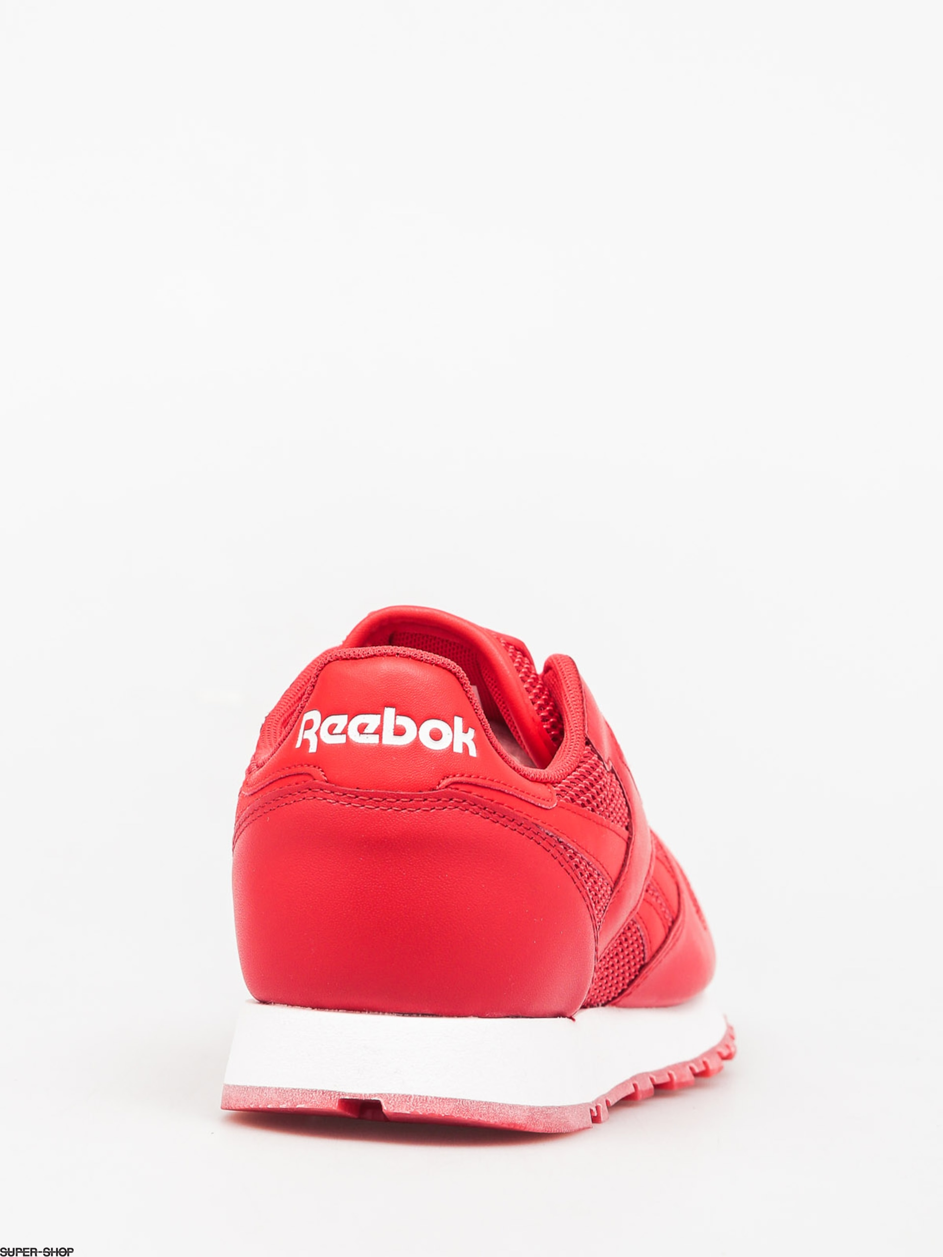 adcad4a9f527 Reebok Shoes Classic Leather Nm (primal red white poppy red)
