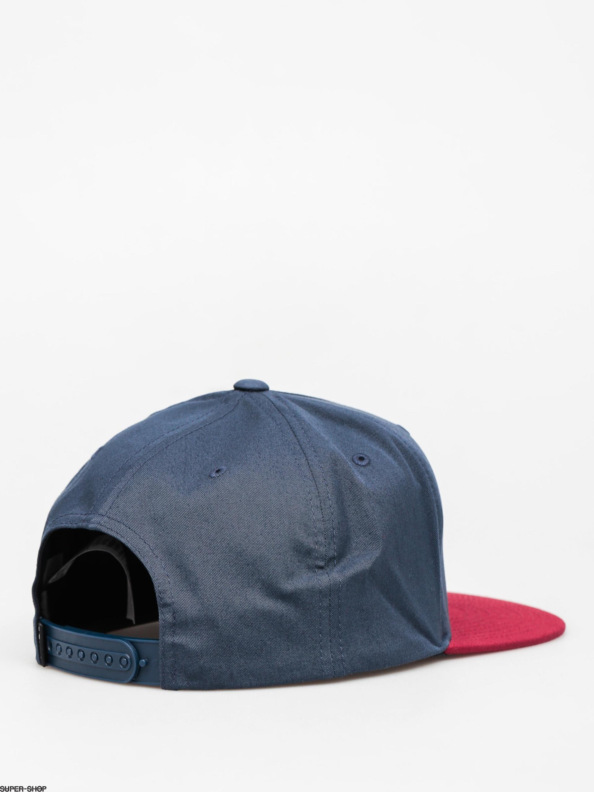 9f4ec04fa0651 Vans Cap Side Stripe Snapback ZD (dress blues rhubrab)