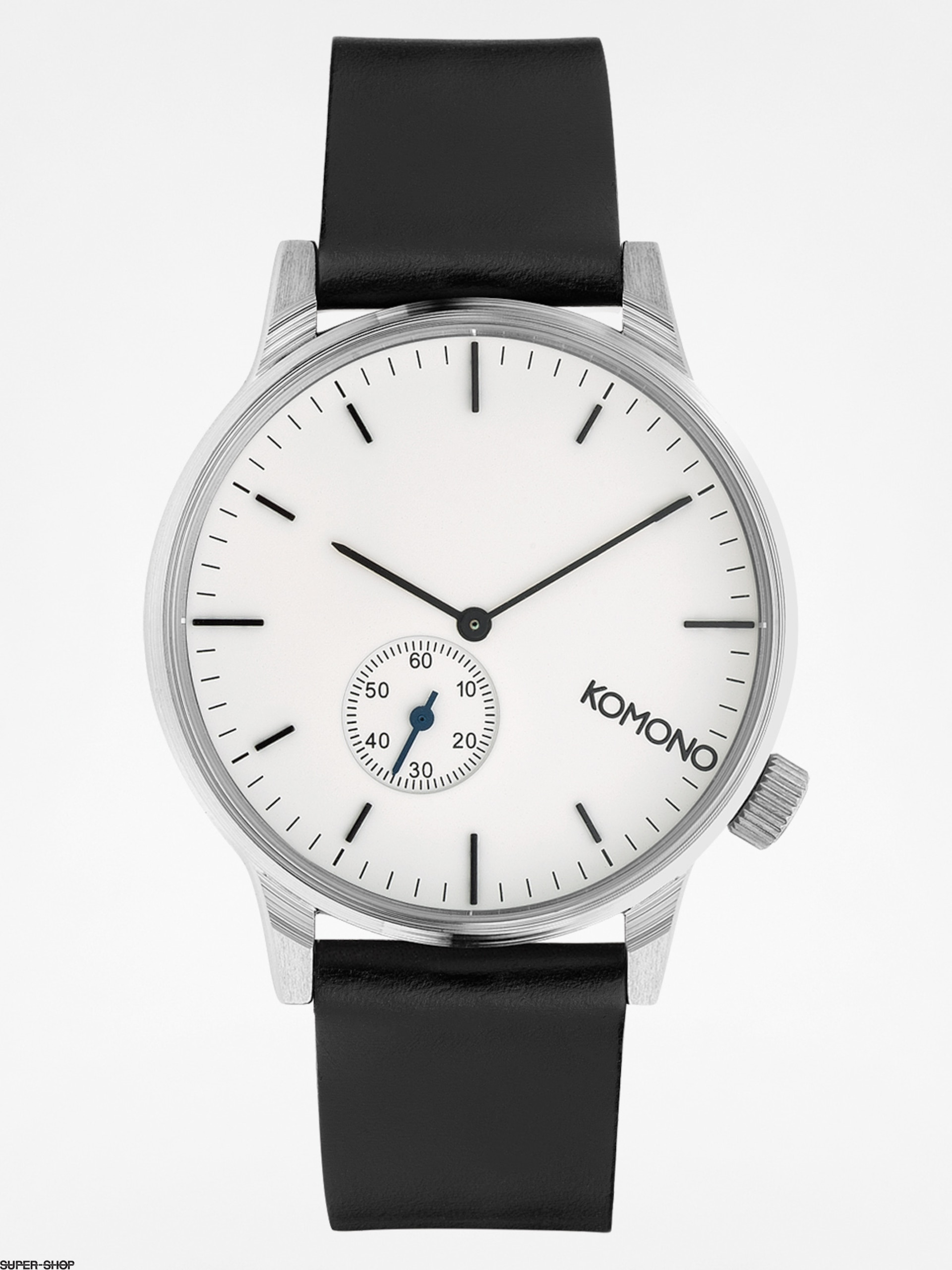Komono Watch Winston Subs (silver/white)