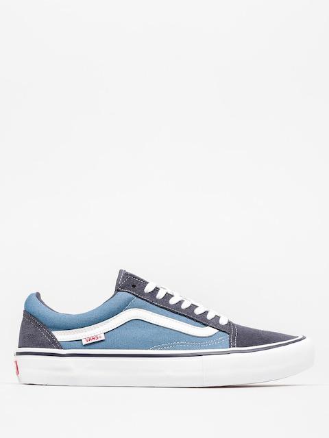 Vans Schuhe Old Skool Pro (navy/stv navy/white)