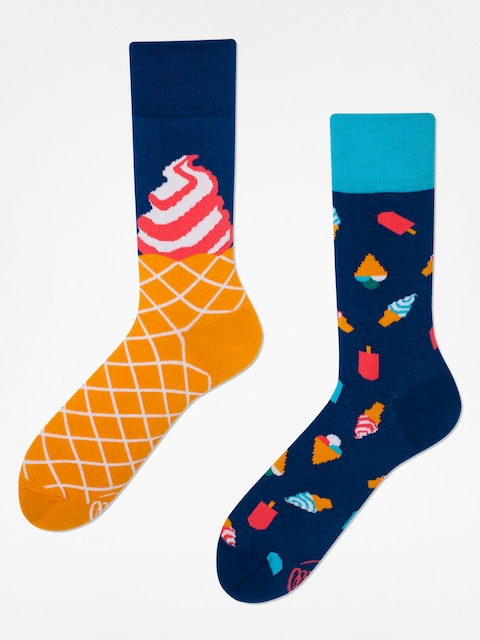 Many Mornings Socken Ice Cream Dream (blue)