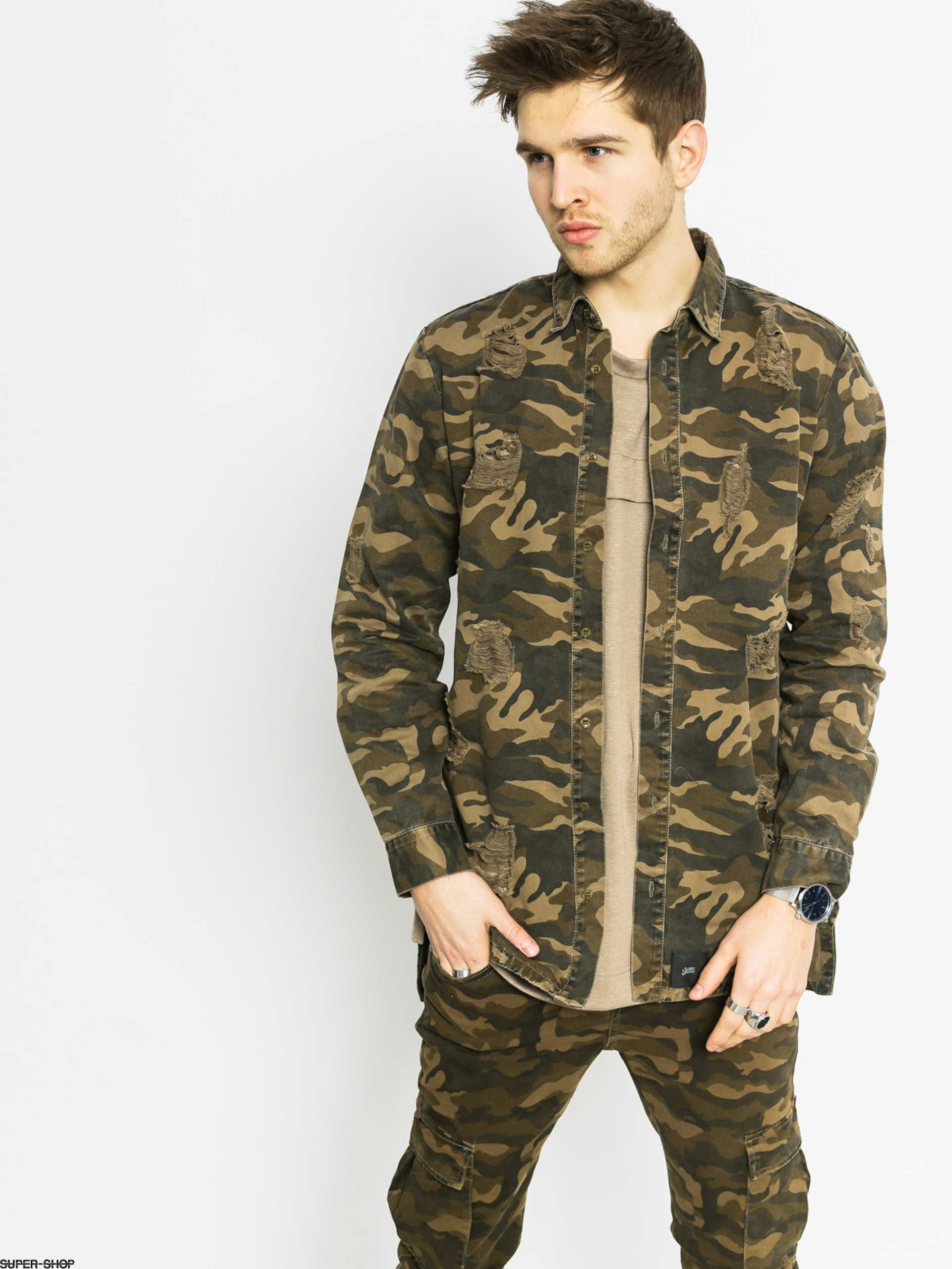 Sixth June Jacket Chemise (camo)