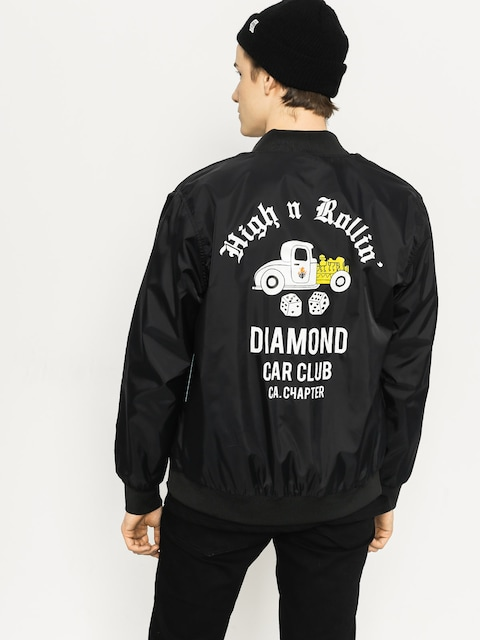 Diamond Supply Co. Jacke Club Varsity (black)