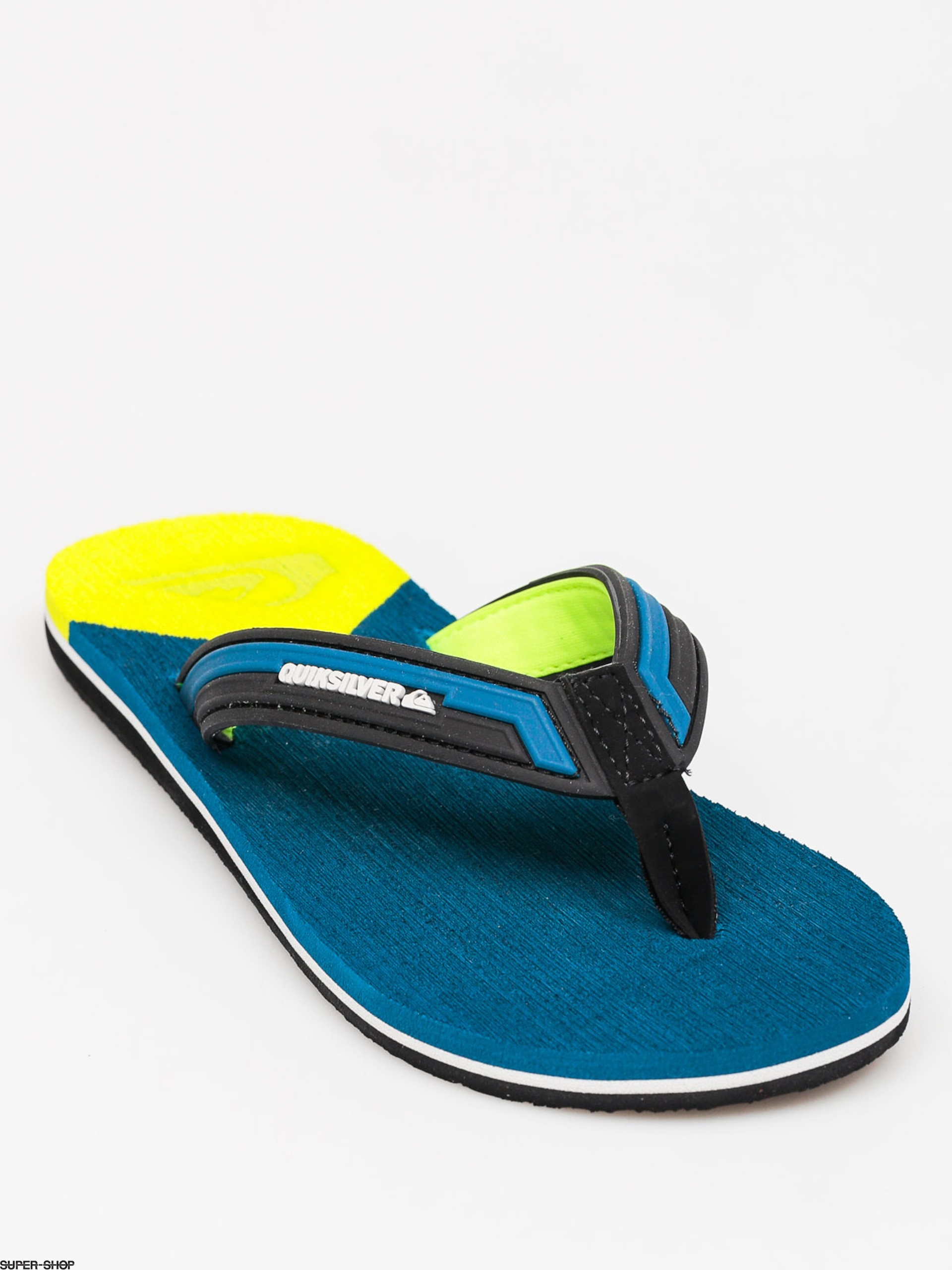 Quiksilver Flip-flops Molokai New Wave (blue/yellow/blue)
