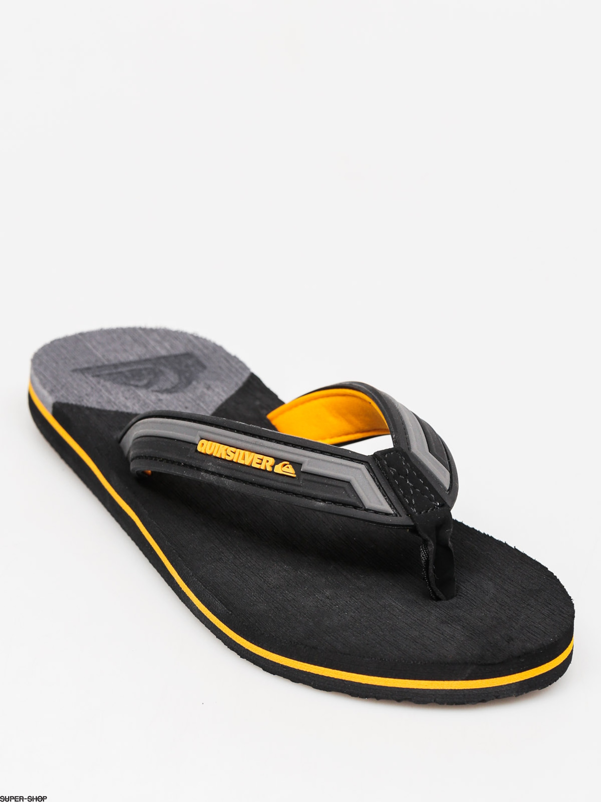 Quiksilver Flip-flops Molokai New Wave (grey/grey/orange)