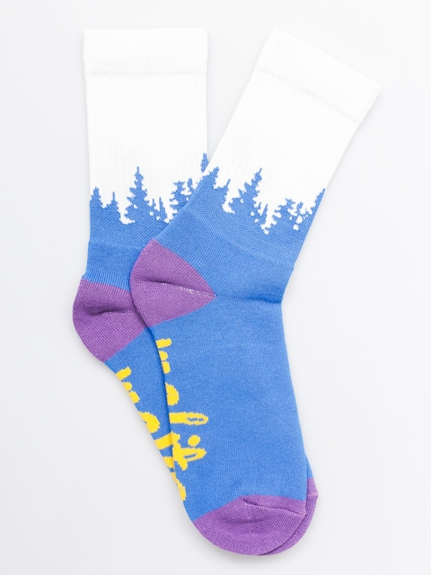 Malita Socks Forest (violet)