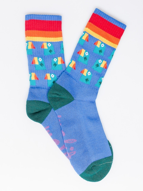 Malita Socks Toucan (blue)