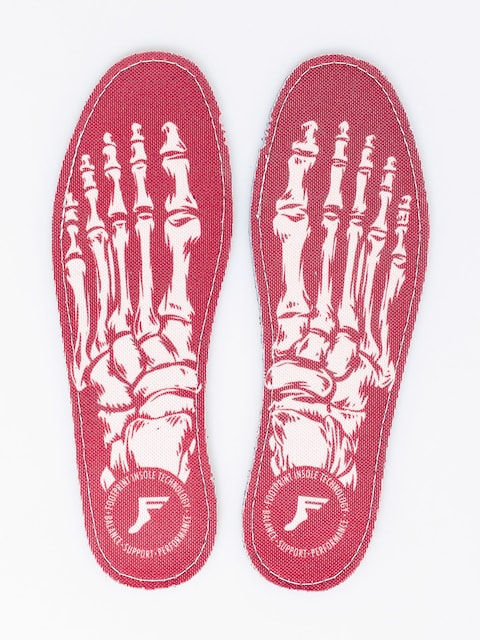 Footprint Insole Flat Skeleton