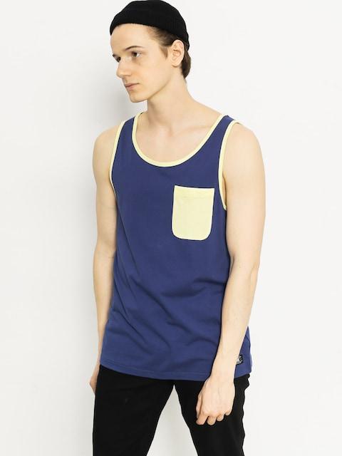 DC T-Shirt Contra Tank (navy/yellow)