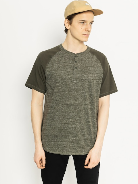 DC T-Shirt Enderlin Henley (dark olive heather)