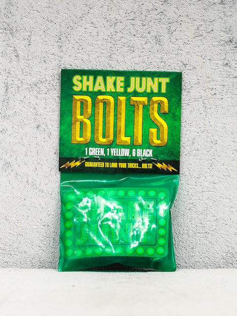 Shake Junt Montageset Bolts Phillips (black/green/yellow)