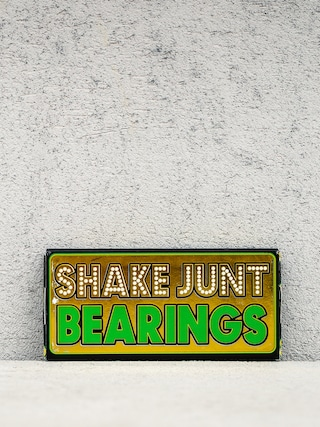 Shake Junt Bearings 02 ABEC (gold/green)