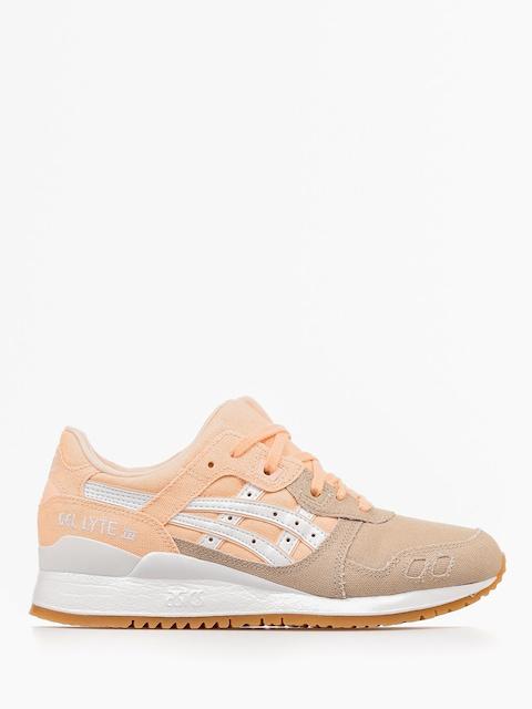 Asics Schuhe Gel Lyte III Wmn (bleached apricot/white)